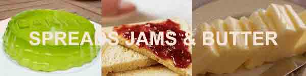 Butter, Bread Spreads, Jelly, Jam