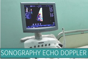 Ultrasound Echo Colour Doppler