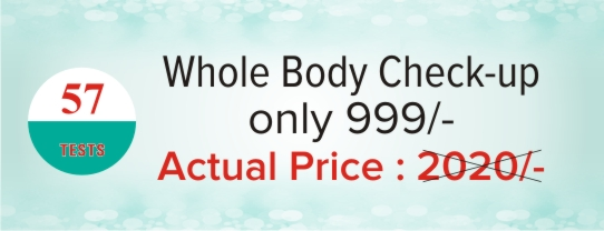 Whole Body Check-up 999 only